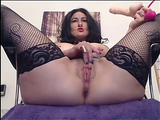 Voluptuous fucking with the addition of slapping bawdy cleft live show