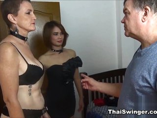 Upbringing for Slutwife D - ThaiSwinger