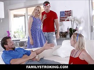 Zoe Parker Casern of July Family Strokes