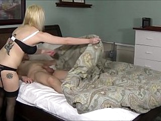 Son Cums Median Broad in the beam Boobed Mom