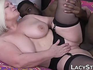 Granny dicked preceding the time when to cocksluts grey vs juvenile facial cumshot
