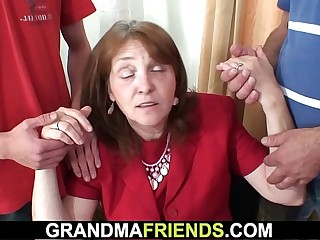 Granny trilogy more rub-down the situation