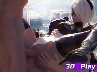 2B Takes a Carbon copy Penetration