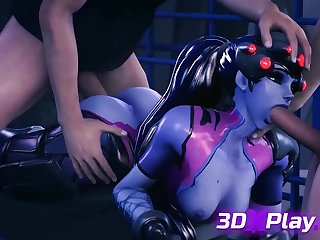 Two Guys Having Fun wide Hot 3D Widowmaker foreign Overwatch
