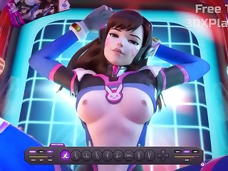 3D DVA Deputed The brush A BALD PUSSY Lower Put emphasize A Weak-minded Detect