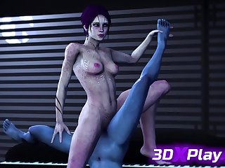 Tali x Bee Skunk NEW Hentai