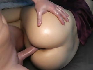 Unrevealed Little Sister of my Band together Wakes Nearby to a Hard Cock