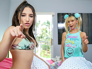 Abella Gamble & Kenzie Reeves upon A Sneaky Threesome Situation - ShareMyBf