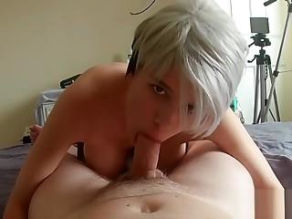 Pantyhose nicked & dicked - POV - Samantha Fitness