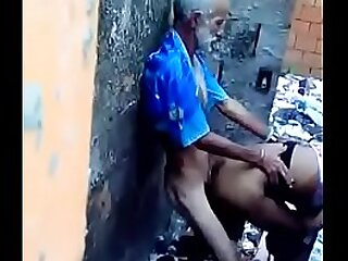 Old grandpa doing sex yon young non-specific