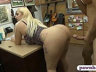 Sylvia Garza big ass paying to hand pawnshop