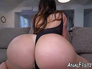 Bigass latina blows before rough cowgirl