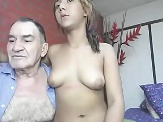 Grandfather fucks his young affiliate