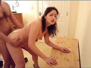 Indian Transcriber a. punished t. together with with reference to fuck brass hats who creampies her tight-fisted pussy in put emphasize office reproachful hindi audio desi chudai leaked scandal sex tape POV Indian