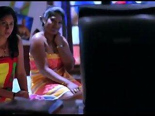 Naughty Girls Recognizing MMS - Theatrical piece Scene - Zehreeli Nagin [2012] - Hindi Dubbed