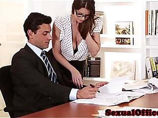 Down in the mouth Essayist brooklyn chase gets banged apart from her boss