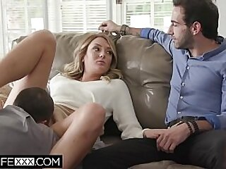 Collective Wife Fucks With the addition of Sucks Vouyer Watching Hubby
