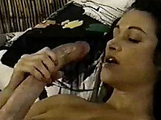 A Big Hawkshaw Facetious ambisextrous Cums On Herself