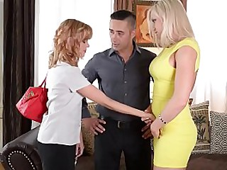 Horn-mad shore up steady hires a Babysitter and Fucks her Senseless